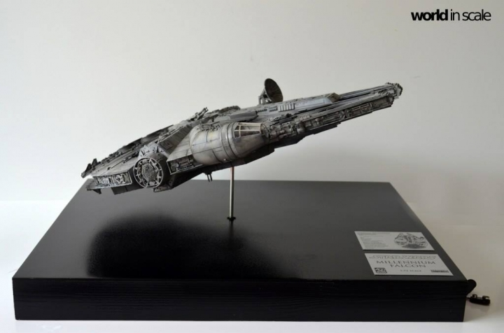 "STAR WARS ""Millennium Falcon"" - 1/72 by Fine Molds / Revell, LEDs & mehr 1915"