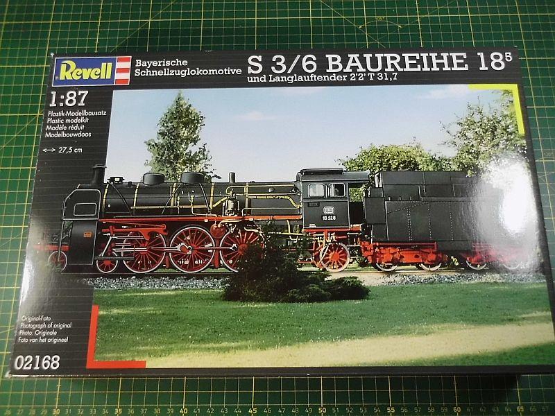 Revell 02168 - Baureihe 18.5 mit Langlauftender 1/87 - Fertig 196