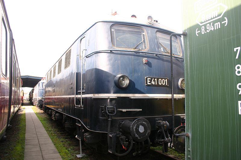 Kleiner Besuch im Eisenbahnmuseum Koblenz am 19.10.17 2010