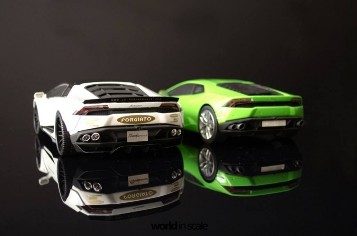 "Lamborghini Huracán ""Liberty Walk"" - 1/24 by Aoshina + Hobby Design 2012"