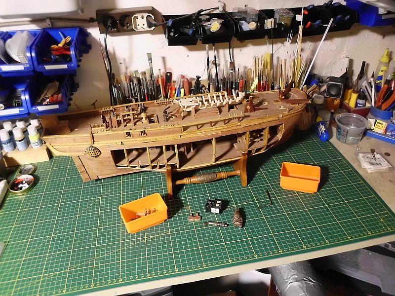 DelPrado - HMAV Bounty 1:46 (Weiter)Baubericht 2100