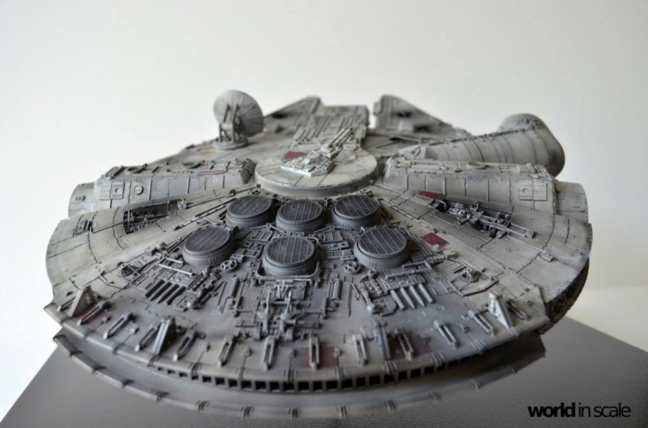 "STAR WARS ""Millennium Falcon"" - 1/72 by Fine Molds / Revell, LEDs & mehr 2214"