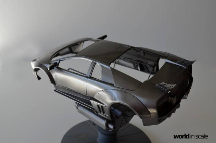 "Lamborghini Murciélago ""LIBERTY WALK"" (LB PERFORMANCE) - 1/24 by Fujimi, Eigthyo 222"