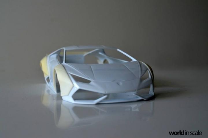 "Lamborghini Huracán ""Liberty Walk"" - 1/24 by Aoshima & Hobby Design 223"