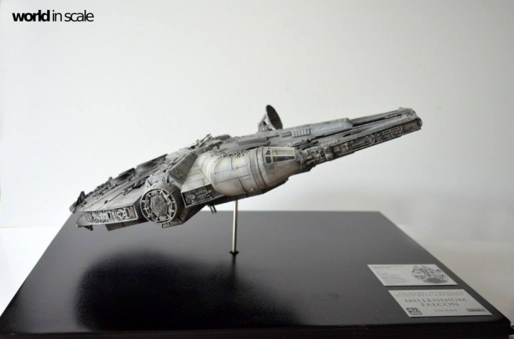 "STAR WARS ""Millennium Falcon"" - 1/72 by Fine Molds / Revell, LEDs & mehr 2313"