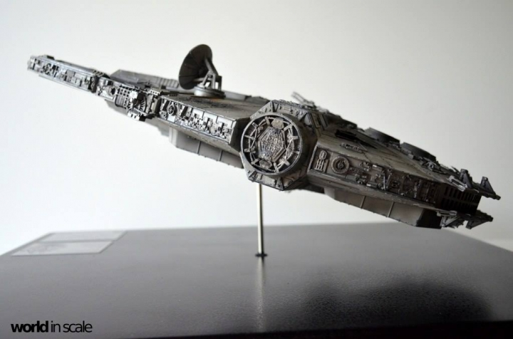 "STAR WARS ""Millennium Falcon"" - 1/72 by Fine Molds / Revell, LEDs & mehr 2512"