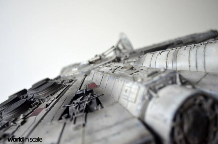 "STAR WARS ""Millennium Falcon"" - 1/72 by Fine Molds / Revell, LEDs & mehr 2611"