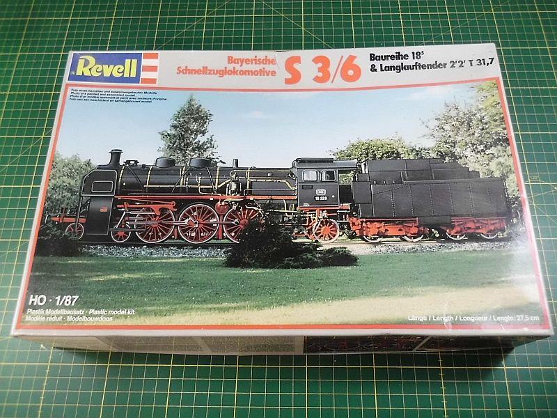 Revell 02168 - Baureihe 18.5 mit Langlauftender 1/87 - Fertig 286