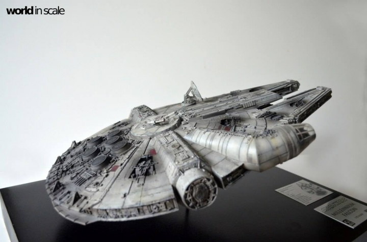 "STAR WARS ""Millennium Falcon"" - 1/72 by Fine Molds / Revell, LEDs & mehr 2911"