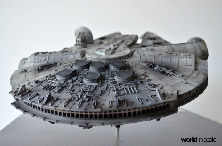 "STAR WARS ""Millennium Falcon"" - 1/72 by Fine Molds / Revell, LEDs & mehr 3010"