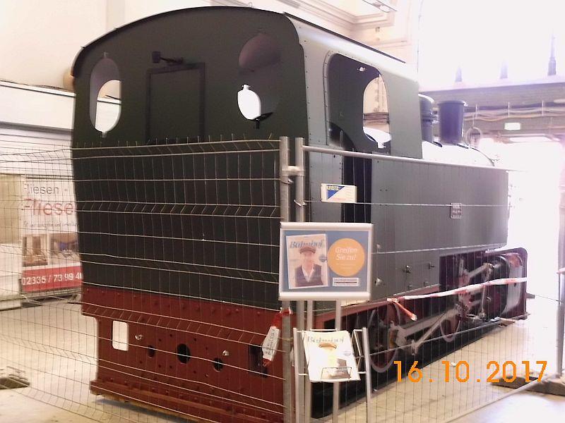 """Lok 1 """" Friedrich"""", ehem. Lok der Hasper Hütte auf dem Wittener Hauptbahnhof 313"""