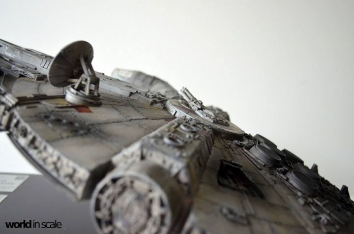 "STAR WARS ""Millennium Falcon"" - 1/72 by Fine Molds / Revell, LEDs & mehr 3210"