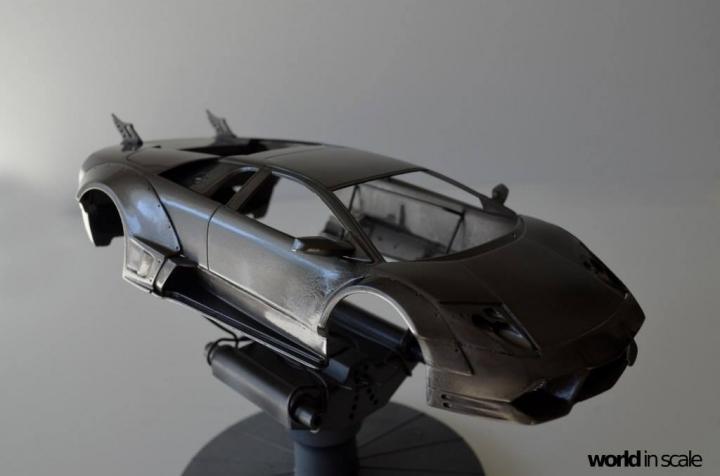 "Lamborghini Murciélago ""LIBERTY WALK"" (LB PERFORMANCE) - 1/24 by Fujimi, Eigthyo 322"