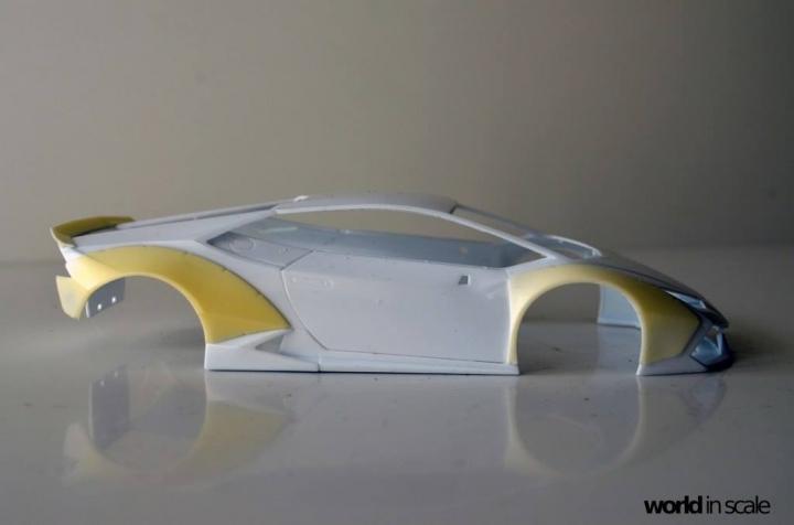 "Lamborghini Huracán ""Liberty Walk"" - 1/24 by Aoshima & Hobby Design 323"