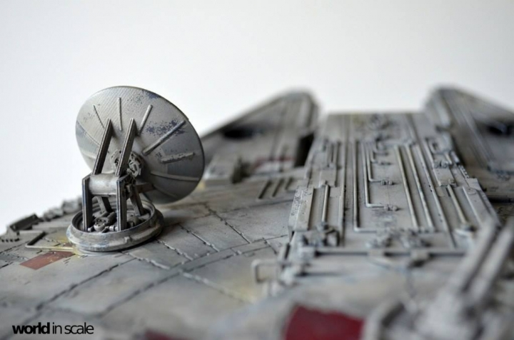 "STAR WARS ""Millennium Falcon"" - 1/72 by Fine Molds / Revell, LEDs & mehr 3310"