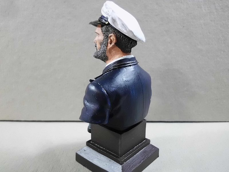 Andrea S9-B14 U-Boat Commander - Resin-Büste 1/10 - Galerie 367