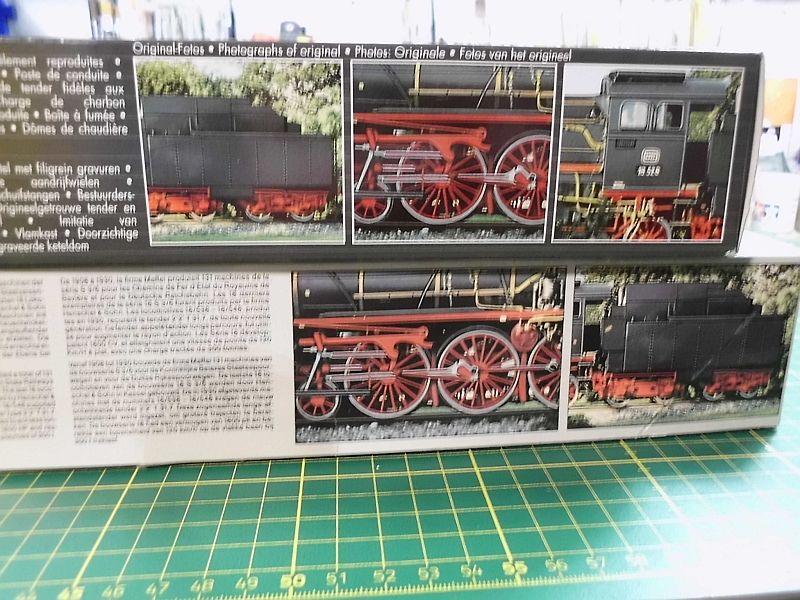 Revell 02168 - Baureihe 18.5 mit Langlauftender 1/87 - Fertig 369