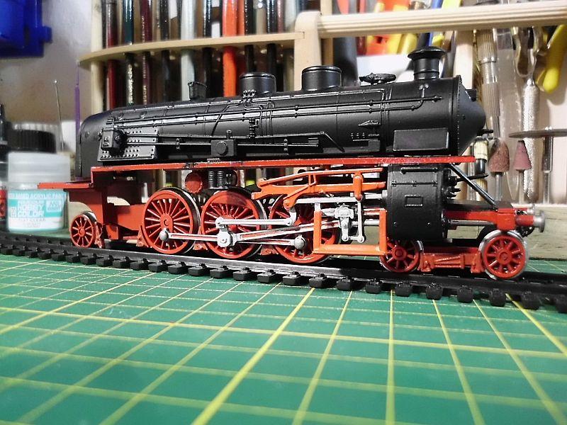 Revell 02168 - Baureihe 18.5 mit Langlauftender 1/87 - Fertig 377