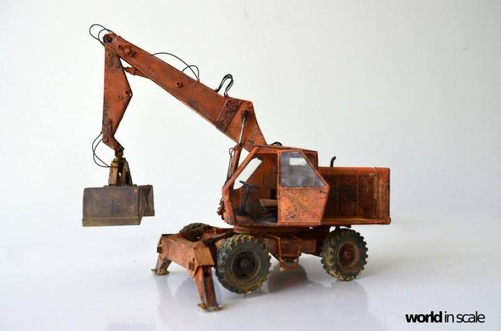 """WEIMAR T174-2 """"Fortschritt"""" - 1/35 by Balaton Modell 3n10"""