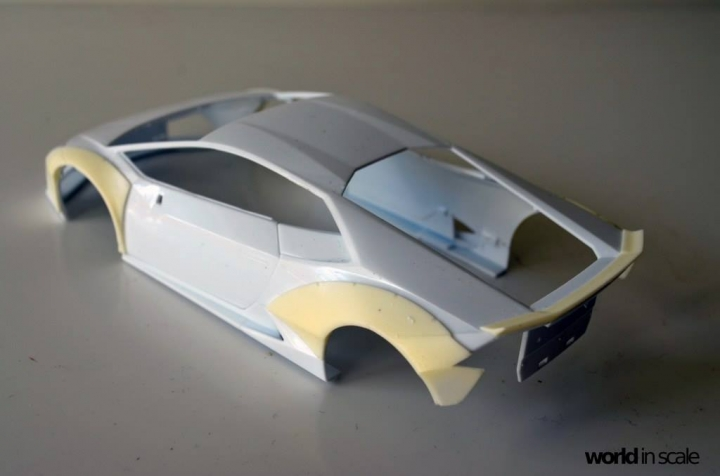 "Lamborghini Huracán ""Liberty Walk"" - 1/24 by Aoshima & Hobby Design 418"