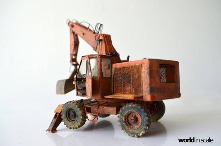 """WEIMAR T174-2 """"Fortschritt"""" - 1/35 by Balaton Modell 423"""