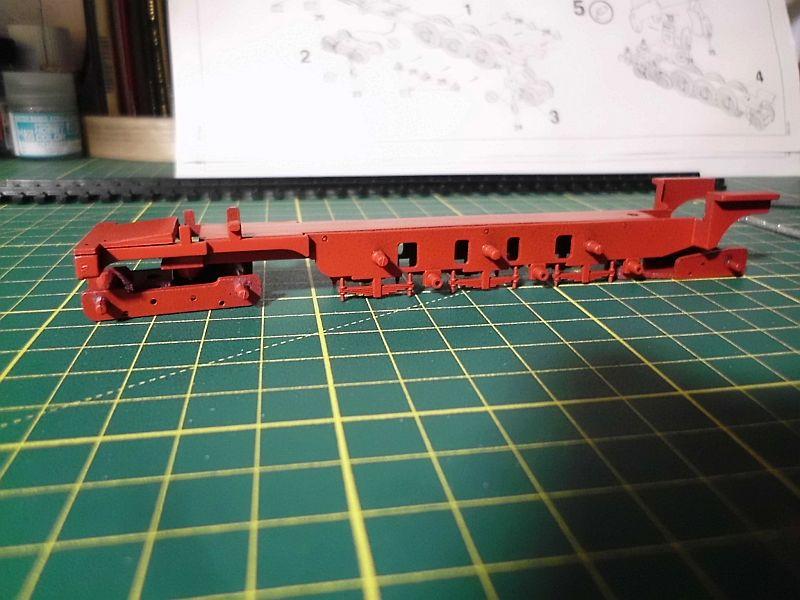 Revell 02168 - Baureihe 18.5 mit Langlauftender 1/87 - Fertig 461