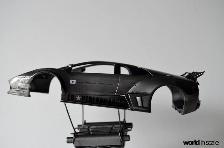 """Lamborghini Murciélago """"LIBERTY WALK"""" (LB PERFORMANCE) - 1/24 by Fujimi, Eigthyo 4n10"""