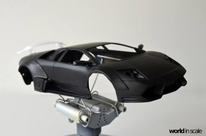 "Lamborghini Murciélago ""LIBERTY WALK"" (LB PERFORMANCE) - 1/24 by Fujimi, Eigthyo 516"