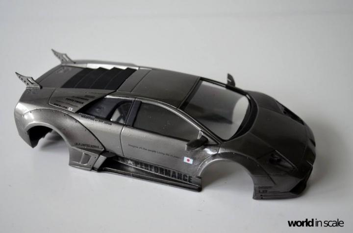 "Lamborghini Murciélago ""LIBERTY WALK"" (LB PERFORMANCE) - 1/24 by Fujimi, Eigthyo 517"