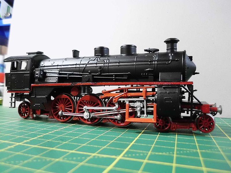 Revell 02168 - Baureihe 18.5 mit Langlauftender 1/87 - Fertig 554