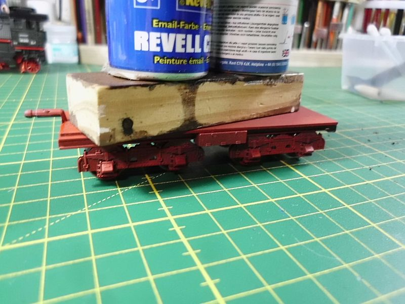 Revell 02168 - Baureihe 18.5 mit Langlauftender 1/87 - Fertig 555
