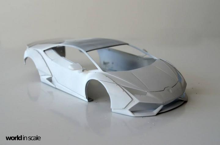 "Lamborghini Huracán ""Liberty Walk"" - 1/24 by Aoshima & Hobby Design 5neuer10"