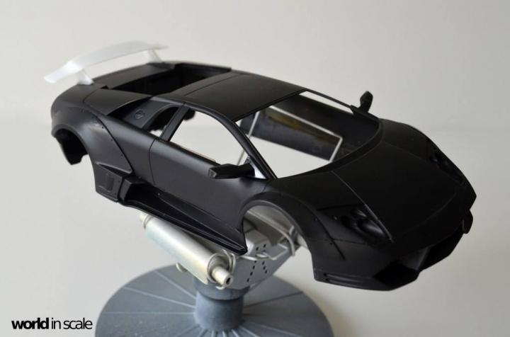 "Lamborghini Murciélago ""LIBERTY WALK"" (LB PERFORMANCE) - 1/24 by Fujimi, Eigthyo 617"