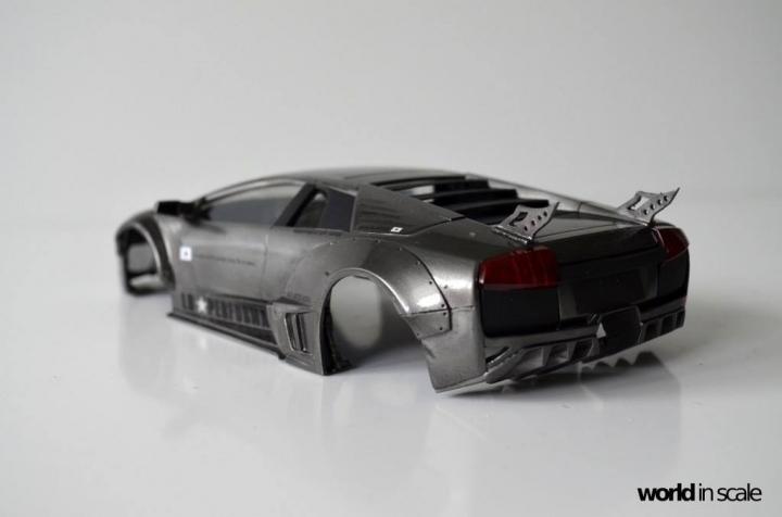 "Lamborghini Murciélago ""LIBERTY WALK"" (LB PERFORMANCE) - 1/24 by Fujimi, Eigthyo 618"