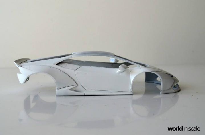 "Lamborghini Huracán ""Liberty Walk"" - 1/24 by Aoshima & Hobby Design 619"