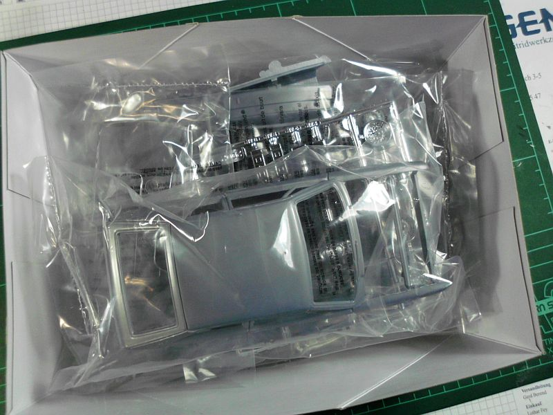 AMT/Ertl 2002 - VW Scirocco - Plastikbausatz in 1/25 Baubericht 646