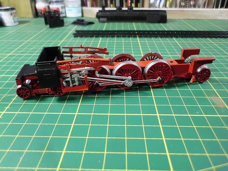 Revell 02168 - Baureihe 18.5 mit Langlauftender 1/87 - Fertig 653