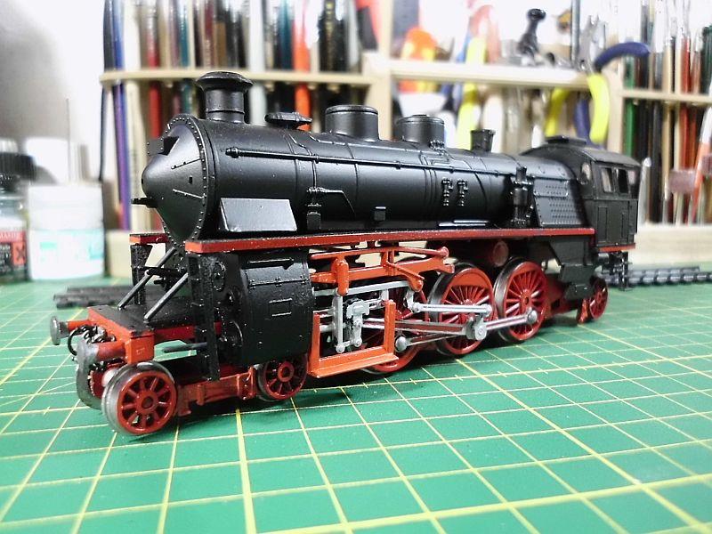 Revell 02168 - Baureihe 18.5 mit Langlauftender 1/87 - Fertig 654