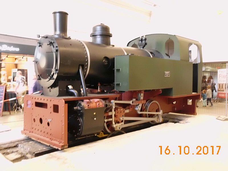 """Lok 1 """" Friedrich"""", ehem. Lok der Hasper Hütte auf dem Wittener Hauptbahnhof 711"""