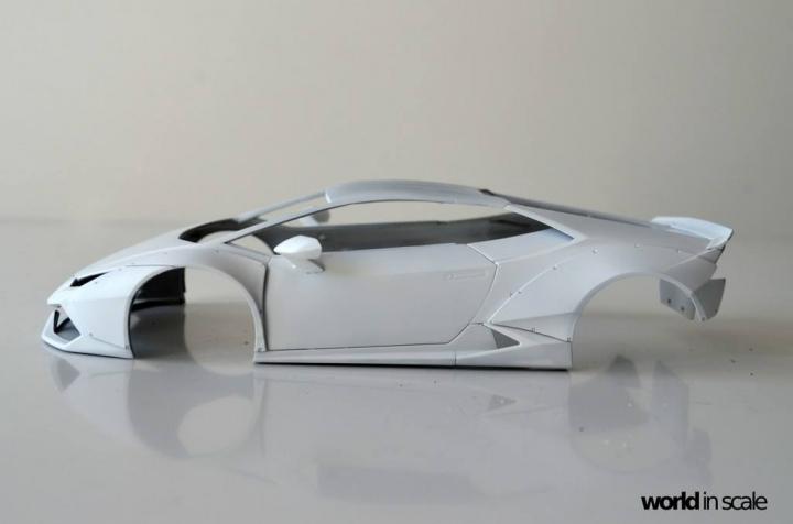 "Lamborghini Huracán ""Liberty Walk"" - 1/24 by Aoshima & Hobby Design 717"