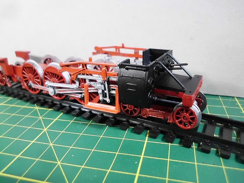 Revell 02168 - Baureihe 18.5 mit Langlauftender 1/87 - Fertig 742