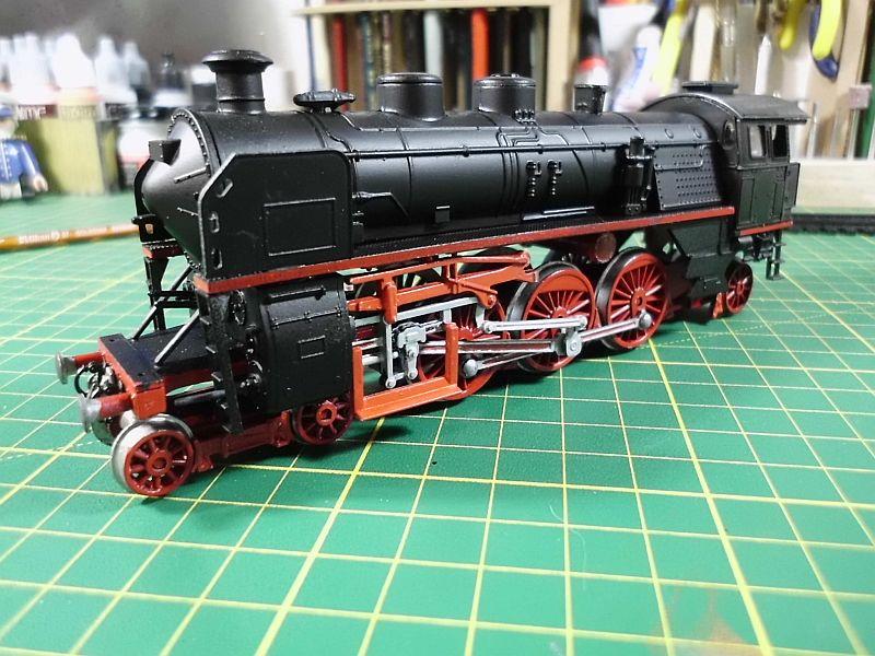 Revell 02168 - Baureihe 18.5 mit Langlauftender 1/87 - Fertig 743