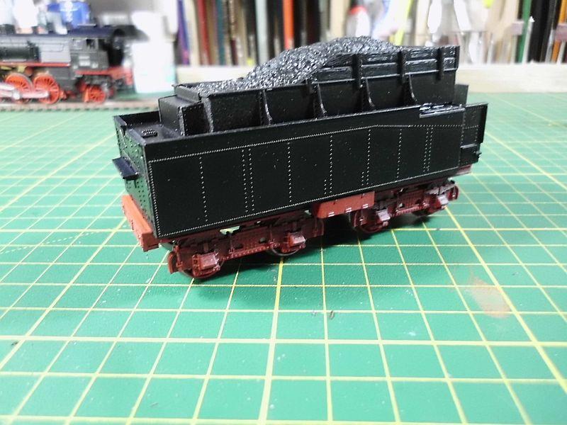 Revell 02168 - Baureihe 18.5 mit Langlauftender 1/87 - Fertig 744