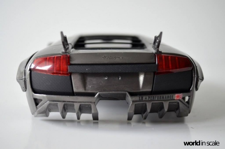 "Lamborghini Murciélago ""LIBERTY WALK"" (LB PERFORMANCE) - 1/24 by Fujimi, Eigthyo 815"