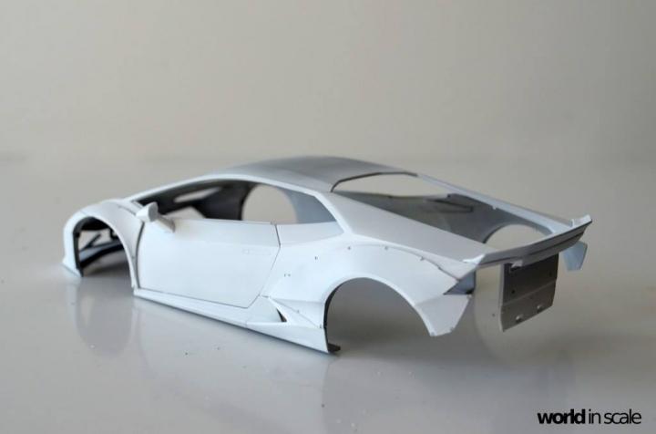 "Lamborghini Huracán ""Liberty Walk"" - 1/24 by Aoshima & Hobby Design 816"