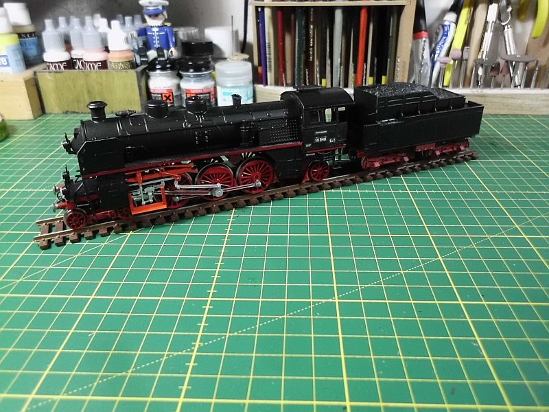 Revell 02168 - Baureihe 18.5 mit Langlauftender 1/87 - Fertig 840