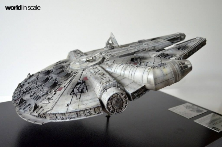 "STAR WARS ""Millennium Falcon"" - 1/72 by Fine Molds / Revell, LEDs & mehr 923"