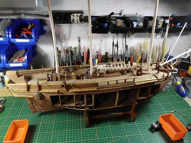 DelPrado - HMAV Bounty 1:46 (Weiter)Baubericht 931
