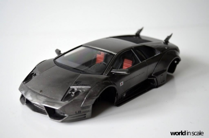 """Lamborghini Murciélago """"LIBERTY WALK"""" (LB PERFORMANCE) - 1/24 by Fujimi, Eigthyo 9n10"""