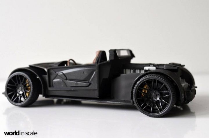 "Lamborghini Huracán ""Liberty Walk"" - 1/24 by Aoshima & Hobby Design 9neuer10"
